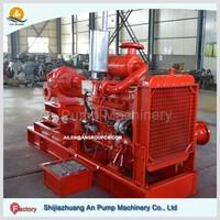 Large capacity split casing monoblock centrifugal water pumps