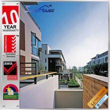 China supplier Australia standard aluminum wooden window