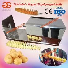 Spiral Potato Chips Machine, Potato Chips Spiral Cutter, Spiral Potato Slicer