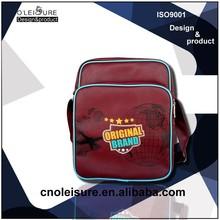 2015 China Manufactory hot sale mens cross strap shoulder messenger bag