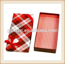 Custom Paper Clothes Packaging Box,Lid and Base Cardboard Box