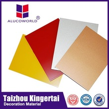 Alucoworld ACP External Wall Finishing Material acm competition