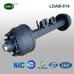 Professional Manufacturer Truck Part Use High Quality Square Beam Rear 16 Tons Heavy Duty Semi Trailer Axle