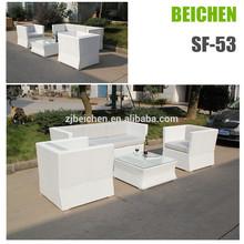 beichen outdoor garden rattan box section sofa