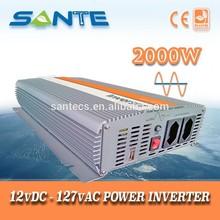 Heavy duty DC to AC double peak power 2000w sine wave inverter
