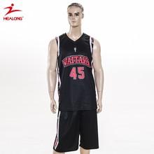 2015 Custom Sublimation new design basketball uniform hot sale
