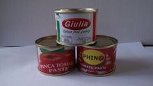 Sauce Product Type and Red Color 70 g canned tomato ketchup/sauce/poste/puree exporter/plant in China
