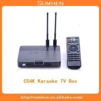 Cortex-A17 Quad core TV box! CS4K (The karaoke version) 8GB Nand Flash multi Video decoding
