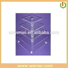 5 Tier Acrylic Cake Display Shelf