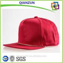 Plain Custom Snapback Cap Hats Rope, Snapback Cap