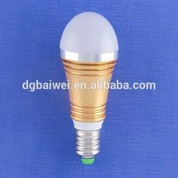 2015 BaiWei good quality E26 E27 B22 bulb light shell die cast aluminum led housing,tube light accessories