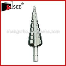 Min 4mm Diameter Step Drill Bit For Metal