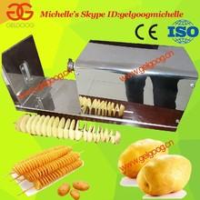 Tower chips machine,Spiral Potato Slicer, Twist potato chips cutter