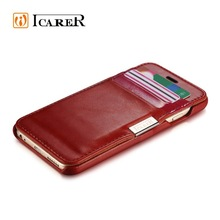 2015 High Quality Mobile Phone Wallet Leather Case For iPhone 6