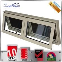 superhouse 10years warranty double glass australian type awning window with AS2047 standard