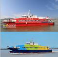 35.6 m novos tipos de barcos de alumínio projeto / builder