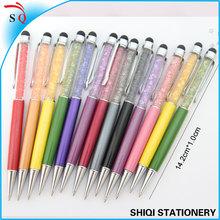 crystal pen wholesales custom stylus touch pen