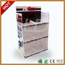 pos mobile chain corrugated display ,pos mobile chain cardboard displays ,pos microphone display standing