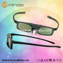 Hindo Active shutter 3d glasses wholesale, universal DLP 3D projector glasses
