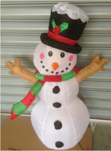 2015 Inflatable Christmas Snowman Santa for Decorations