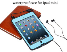 made in china Waterproof case for ipad mini