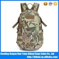 china nueva duradera de gran capacidad militar al aire libre woodland camuflaje mochila de lona bolsa de caza
