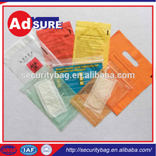 fabric packaging bag for shopping/plastic material bio hazard bag/biodegradable plastic bag production line