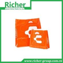 Orange Fashion Electronics Plastic Die Cut Package Bag