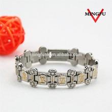 2015 best sale lucky and handmade 316L SS african bracelet