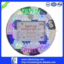 Creative LED Fiber Optic Basketball Photo Frame