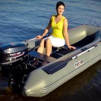 four stroke 5hp outboard motor / manual start / long shaft / F5ABML