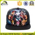 Custom cap snapback/impressão digital 5 painel tampa/chapéu padrão