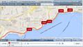 Gps de seguimiento con el software de seguimiento móvil ts20/informe de la historia/seguimiento en tiempo real