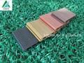 Compuesto plástico de madera suelo, pvc resistente al agua y el suelo de madera, piscina de natación/al aire libre/patio trasero del piso cubiertas