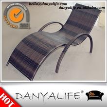 DYLG-D1109 Danyalife Deluxe Backyard Synthesis Rattan Sun Lounge