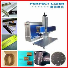 20W Steel/ Aluminum/ Cooper Metal Fiber Laser Marking Machine PEDB-400