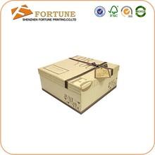 Durable Cardboard/Art Paper/Custom Pretty Rectangle Cake Box