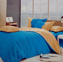 100% microfiber polyester plain dyed wrinkle free peach skin comforter sets