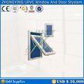 zhongying marca blanca de cocina interior de la mitad del oscilación de las puertas