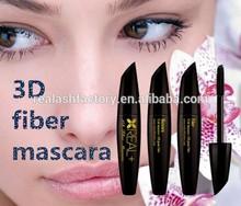 Ads in fashion magazine REAL PLUS eyelash mascara/3D fiber mascara good looking