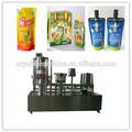 Nova semi- automática de suco de laranja/uva suco de stand up pouch com bico máquinadeenchimento- yh