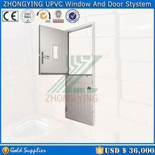 Soundproof design plastic louver door and swing