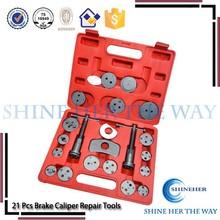 21Pcs professional auto repair tool with brake wind back tool kit