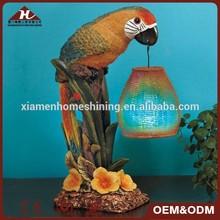 parrot led solar lights