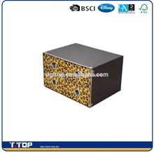 BSCI Audit Factory decorative cardboard drawer storage box