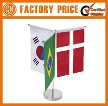 Logo Custom Cheap Customized Table Desk Flag