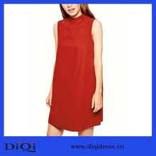 High Quality Simple Shift dresses Oem latest fashion beautiful women new wholesale ladies formal clothing guangzhou cheap garmen