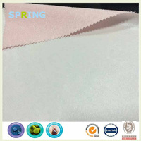breathable Waterproof pink terry Fabric laminate to TPU
