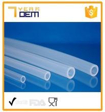 Food grade/Medical grade top quality transparent/colored silicone tube hose