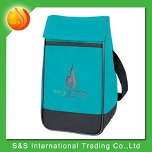 easy velcro closure fitness cooler lunch bag for adult